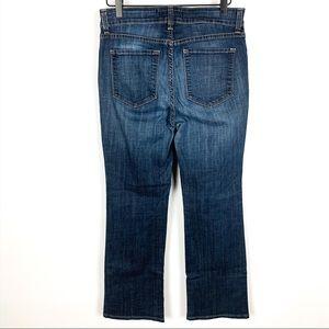 NYDJ | High Rise Bootcut Darkwash Jeans
